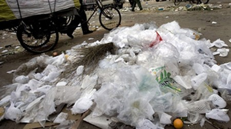 at present the regular plastic bags are sold for rs85 87 per kilogram kg while the oxo biodegradable bags cost around rs92 per kg photo afp