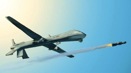 the first us drone strike of february 2013 follows six attacks conducted in january