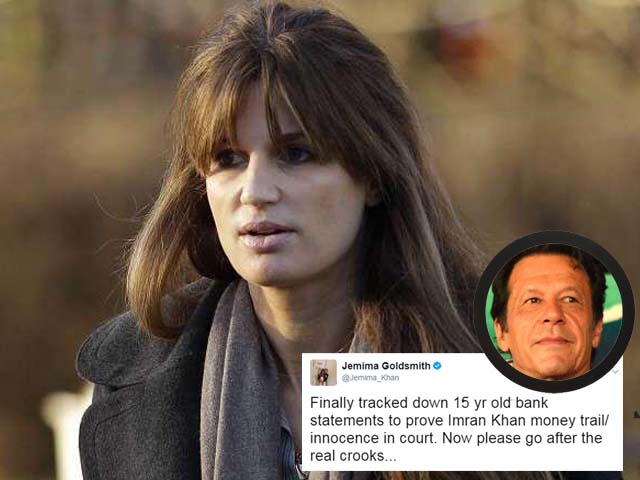 Over the years, Jemima has continued to publicly support Imran and defend him on various issues.
