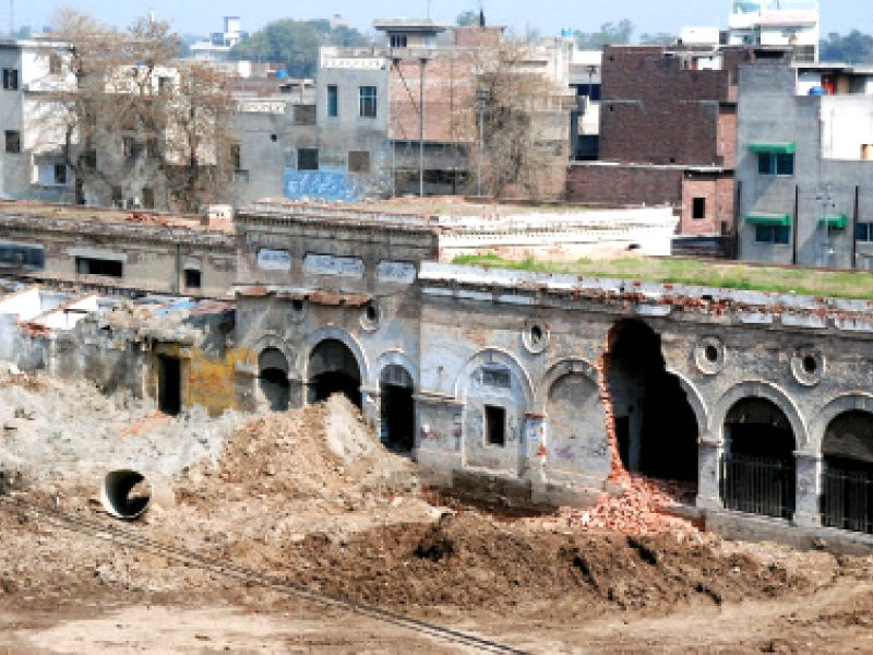 historical buildings demolition of 132 year old railway station stopped