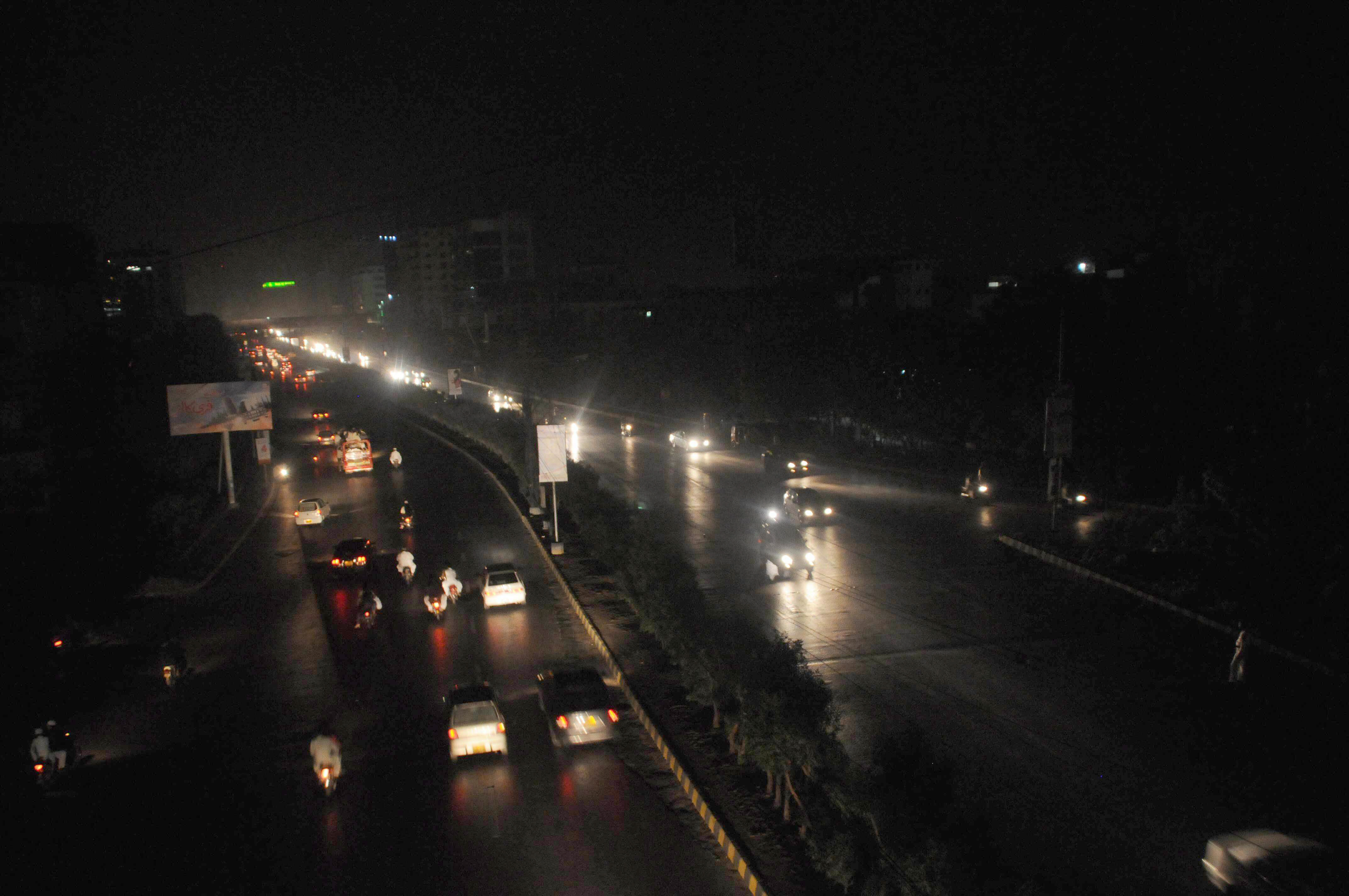 some areas received power within three hours only to lose it to another serious breakdown photo express mohammad noman