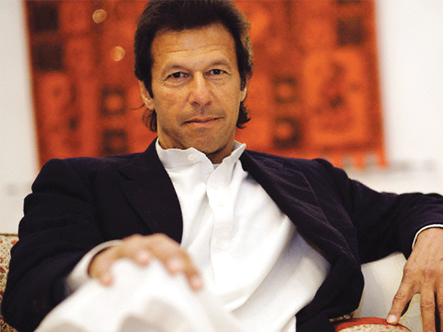 """If today, you try to build Kalabagh Dam without convincing the people of Sindh, the province will witness anarchy similar to that in Balochistan,"" says Khan. PHOTO: AFP/FILE"