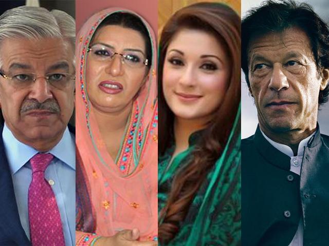"PML-N's Khawaja Asif called Firdous Ashiq Awan a ""dumper"" while Maryam Nawaz has been PTI's worst target of crude sexist and vulgar attacks."