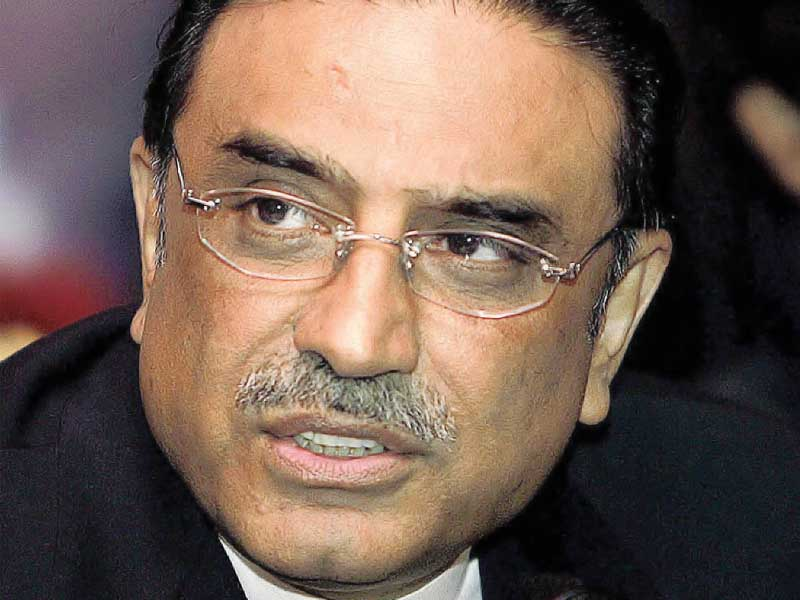zardari says nobody has the power to stop the project