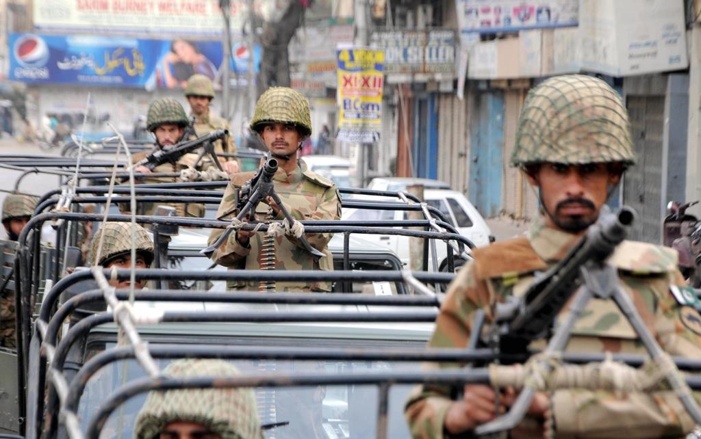 file photo of rangers in karachi photo express file
