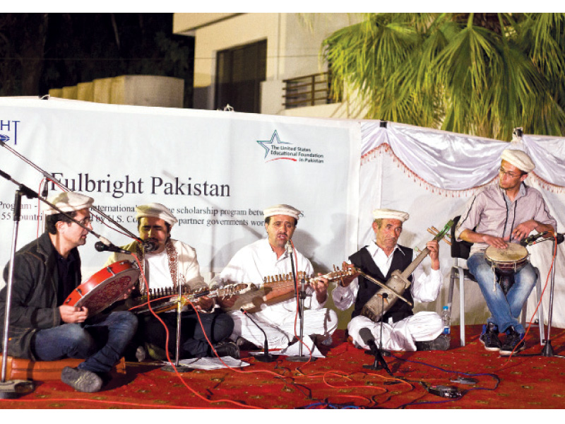 the group performing during the concert photo myra iqbal express