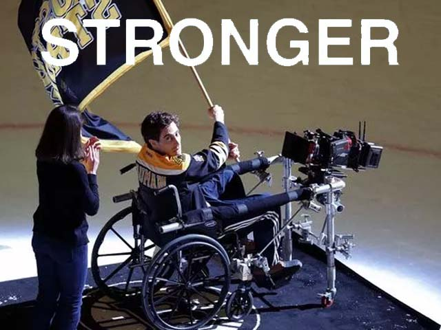 Stronger is primed to open in theaters during the last week of September this year.