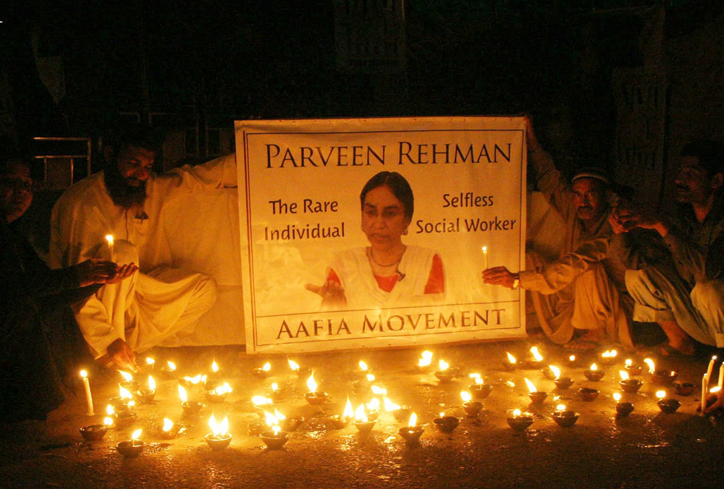 rehman was gunned down by armed men in pakthunabad neighbourhood of karachi on march 13 photo nni