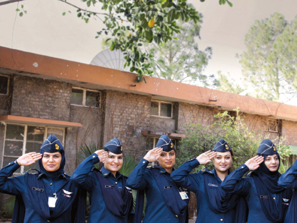 Meet the flying furies of the Pakistan Air Force . PHOTO COURTESY : MYRA IQBAL AND PAF