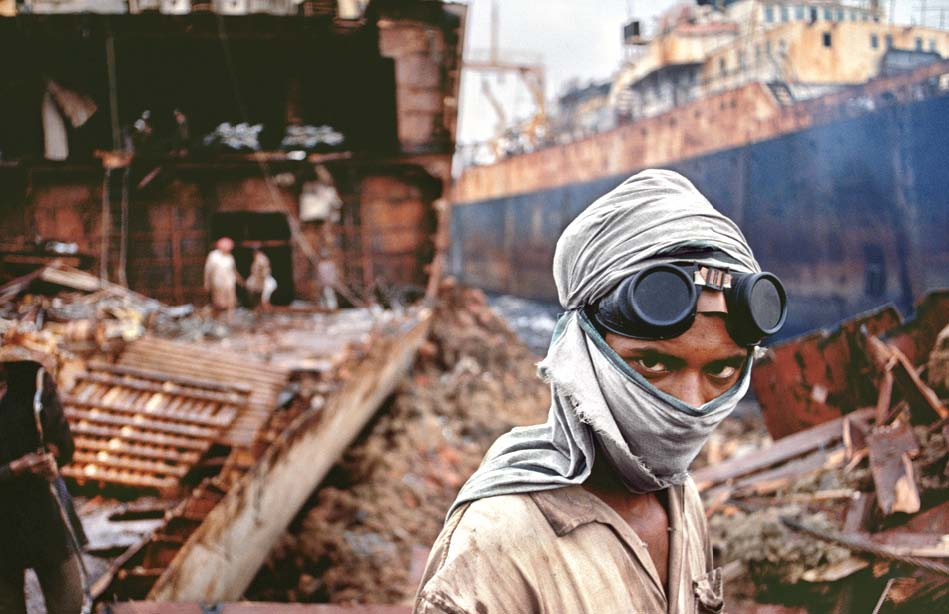 the sro 243 removed ship breaking industry from the ambit of special procedures photo file