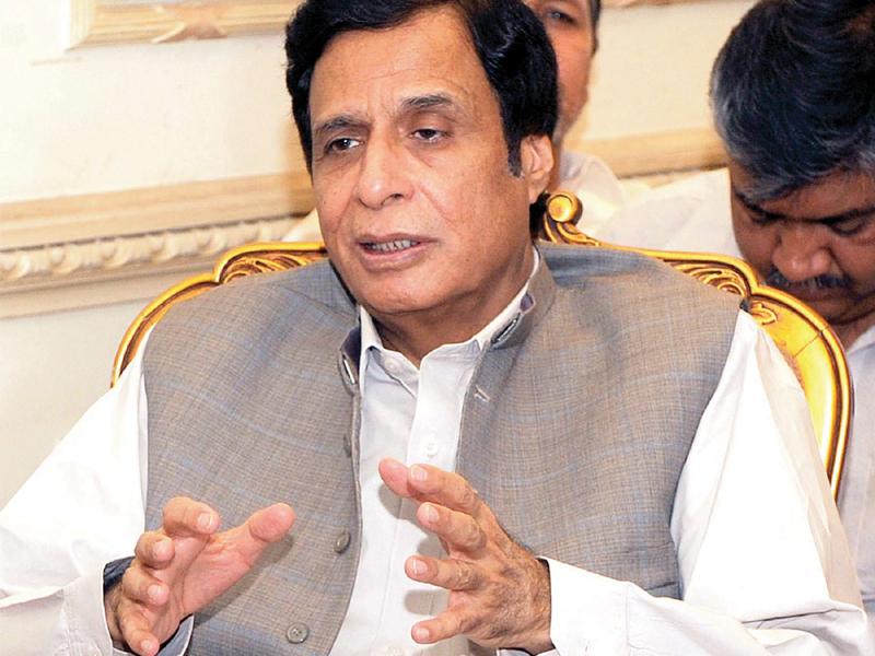 A file photo of deputy PM Chaudhry Pervaiz Elahi. PHOTO: PPI/FILE
