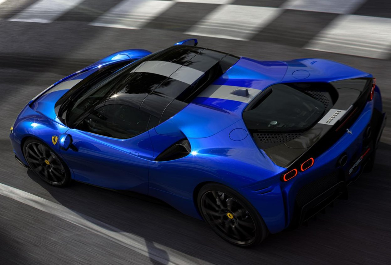 Ferrari lifts the lid on convertible version of SF90 Stradale hybrid