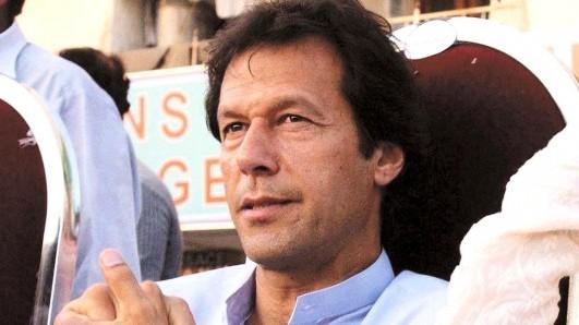 pti chairman imran khan photo file