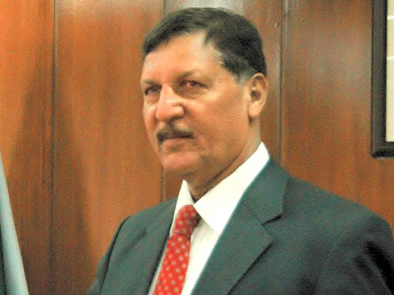 Caretaker Interior Minister Malik Habib. PHOTO: FILE