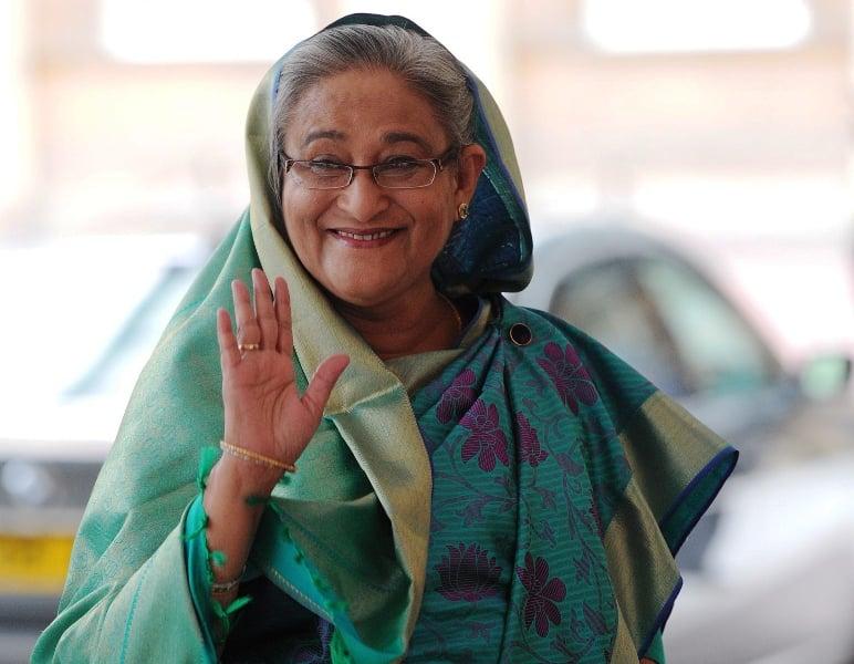 Bangladesh Prime Minister Sheikh Hasina Wajid. PHOTO: AFP/File