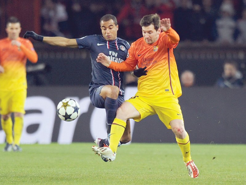 barcelona are looking forward to messi s return who is recovering from a hamstring strain picked up in paris photo afp