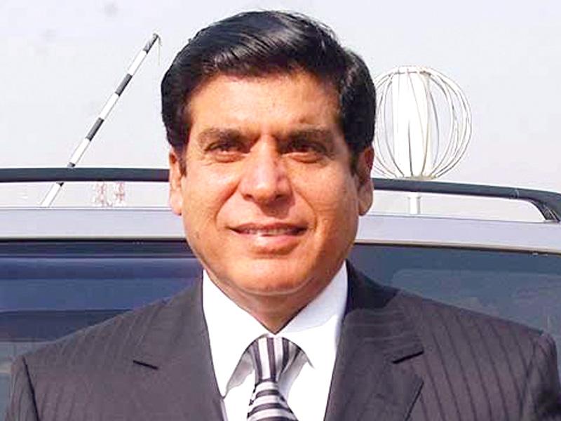 raja pervaiz ashraf was hoping to contest from na 51 gujjar khan