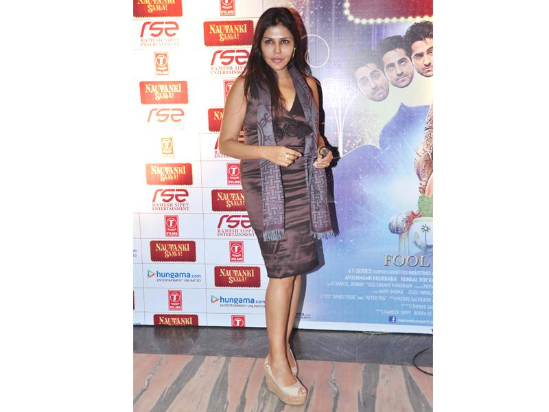 Indian interior designer and socialite Nisha Jamwal.