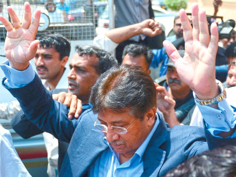 former president pervez musharraf photo afp