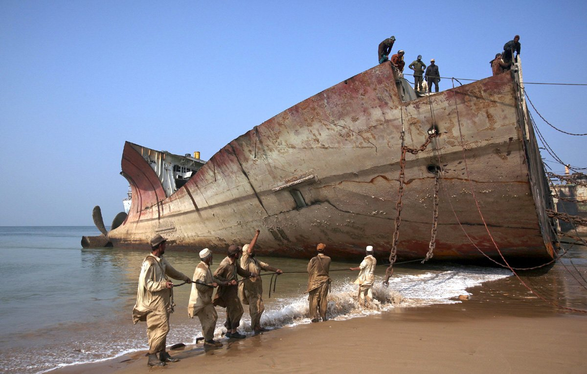 pakistan india and bangladesh dominate the ship breaking industry photo reuters