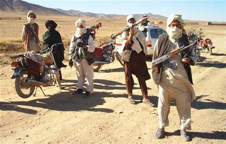 a dated photo showing armed fighters photo reuters file