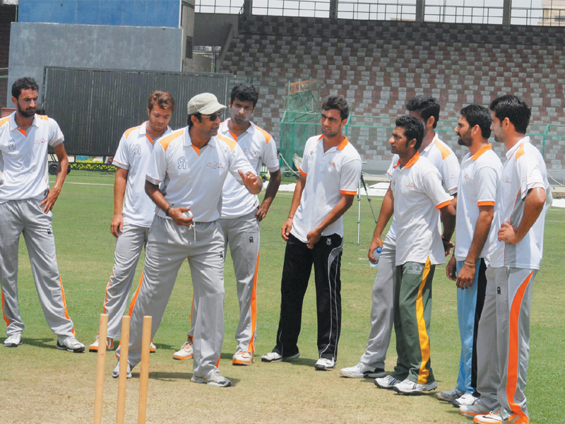 According to Adil, the bowling camp has given him a chance to get into the Champions Trophy squad. PHOTO: PCB