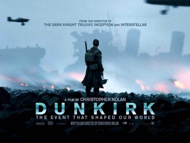 The war in Dunkirk, comprising of terse battles from the sky, land and water, is in itself like a blind, unseeing force. PHOTO: SCREENSHOT