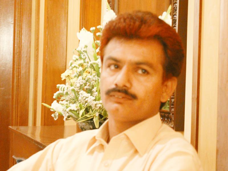 gul muhammad keeriyo pti s candidate from na 213 nawabshah shaheed benazirabad district photo hyder ali