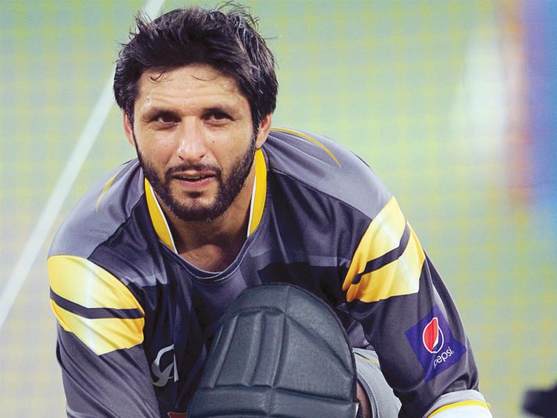 shahid afridi photo afp