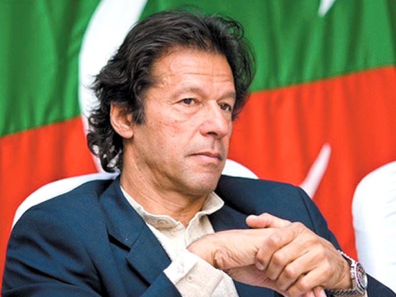 File photo of PTI Chief Imran Khan.  PHOTO: FILE