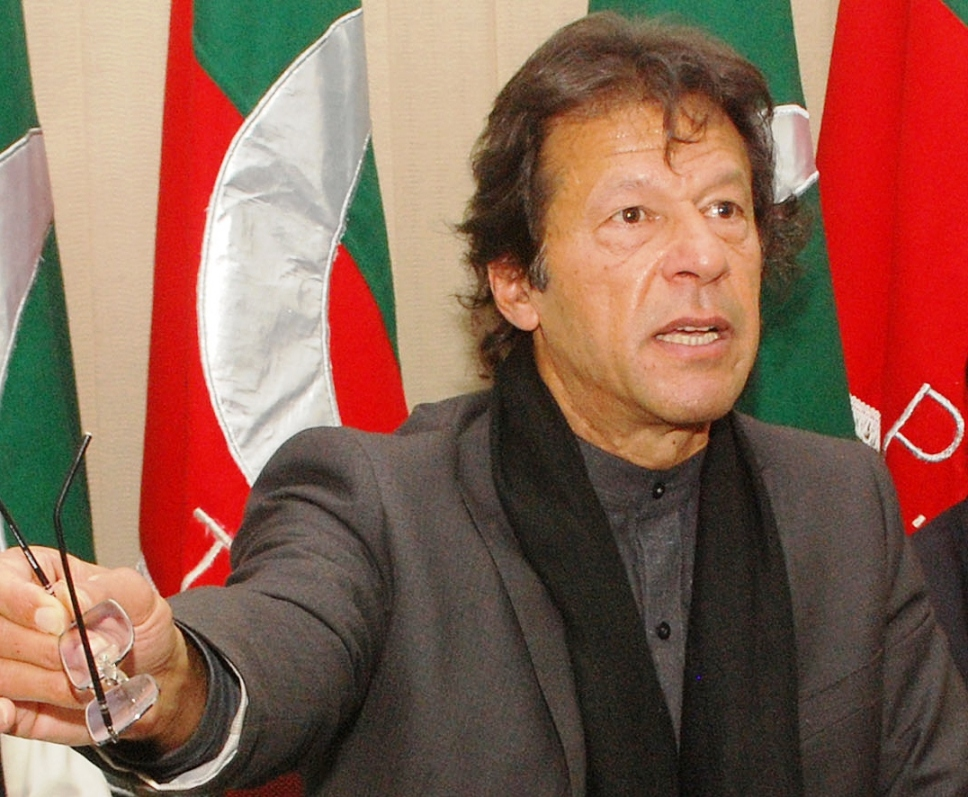 Pakistan Tehreek-e-Insaf Chairman Imran Khan. PHOTO: RIAZ AHMED/EXPRESS