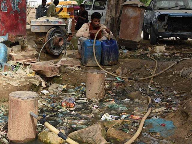 the rich and elite of karachi can afford reverse osmosis plants and tankers every week but we the majority cannot