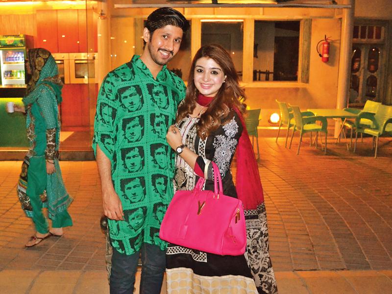 hina and waqar malik at port grand karachi