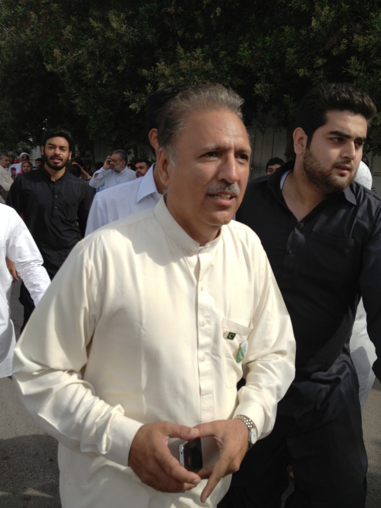 Dr Arif Alvi. PHOTO:FILE