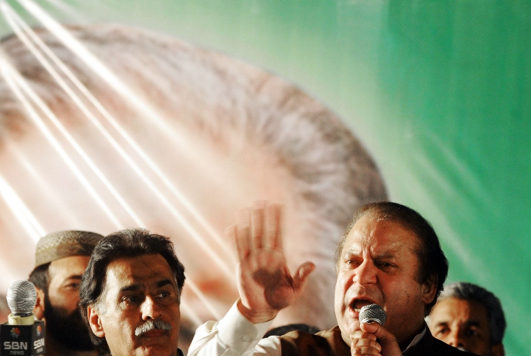 Interestingly, the PTI is just ahead of the PPP in the vote count. PHOTO: AFP/FILE