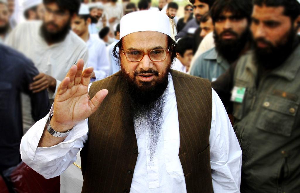 File photo of Hafiz Saeed. PHOTO: REUTERS/FILE