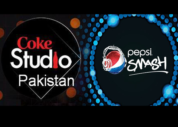 after phenomenal success of coke studio a television music series sponsored by coca cola pakistan the archrival pepsico has launched its own music show pepsi smash