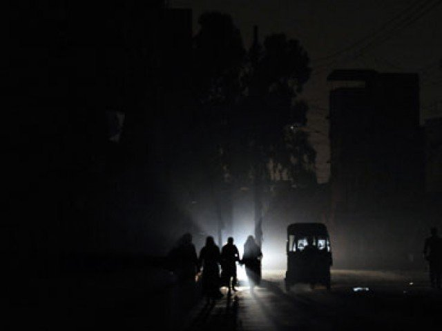 As of this Monday, total power generation was 9,000 MW against a demand of 16,000MW, creating a shortfall of 7,000 MW, and a power crisis of unparalleled proportions.  PHOTO: AFP