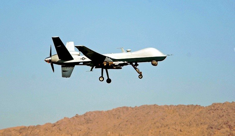 a file photo of a drone photo afp file