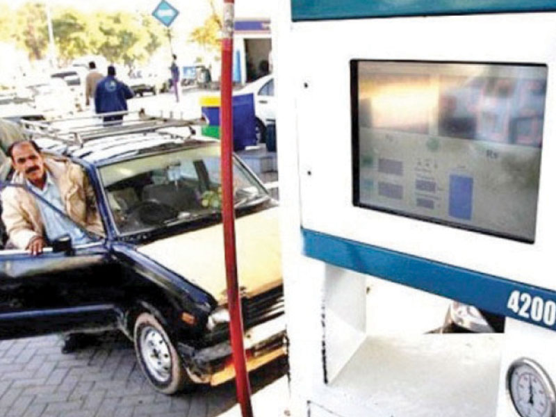 New directives from the prime minister bar providing CNG to cars over 1000cc. PHOTO: FILE