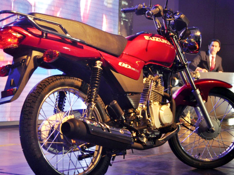 the launch price of the gd 110 has been set at rs99 999 the bike employs a 4 stroke cdi engine which complies with euro ii emission standards photo file