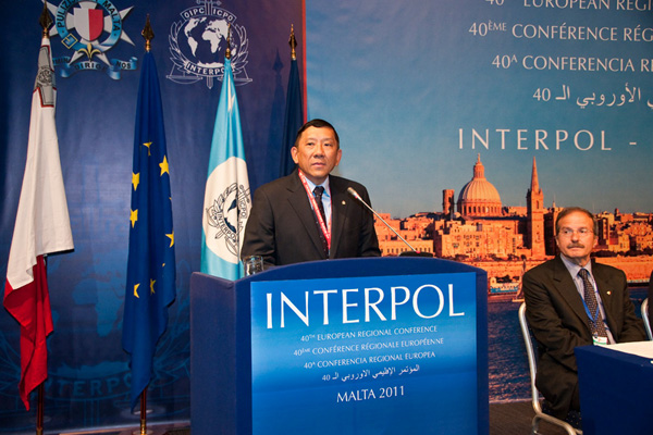 photo from the 40th european regional conference photo www interpol int