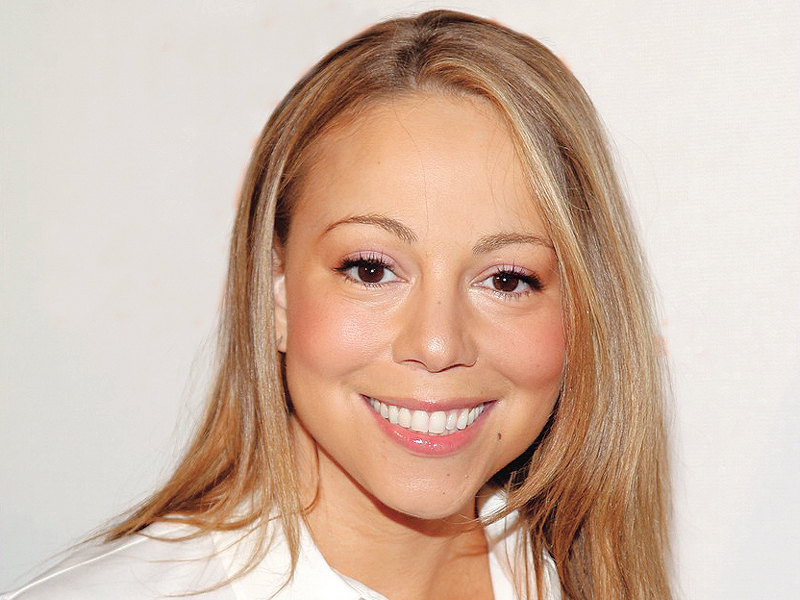 mariah carey who is married to nick cannon is the mother of 20 month old twins moroccan and monroe photo file