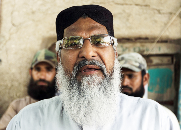 radical sunni cleric maulana ahmed ludhianvi c addresses his supporters photo reuters file