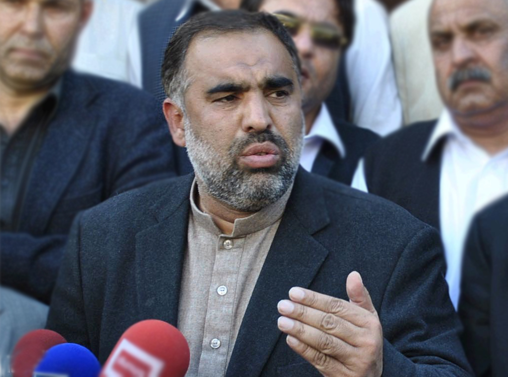 File photo of PTI leader Asad Qaiser. PHOTO: INP/FILE