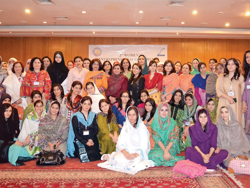 women at the conference gave suggestions to improve market access and also shared their success stories photo online
