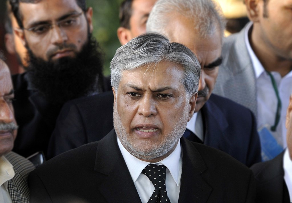 ishaq dar is expected to be new finance minister photo afp