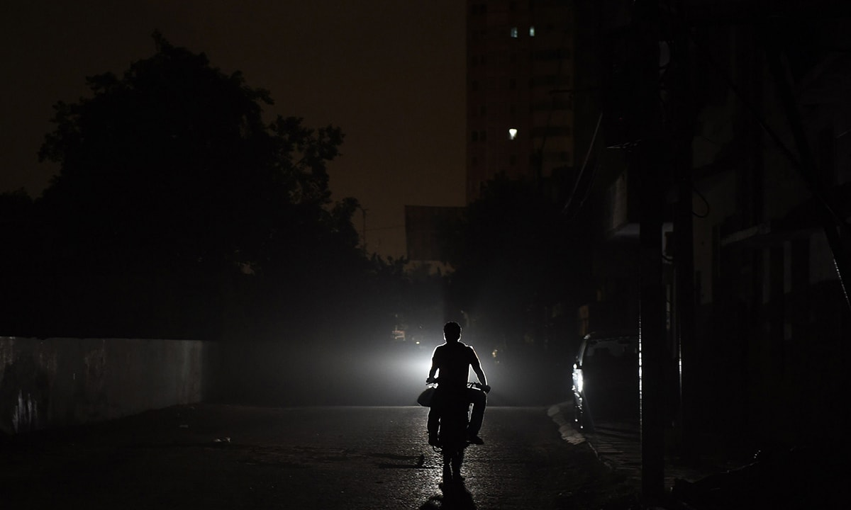 a pakistani web series on load shedding is in the making