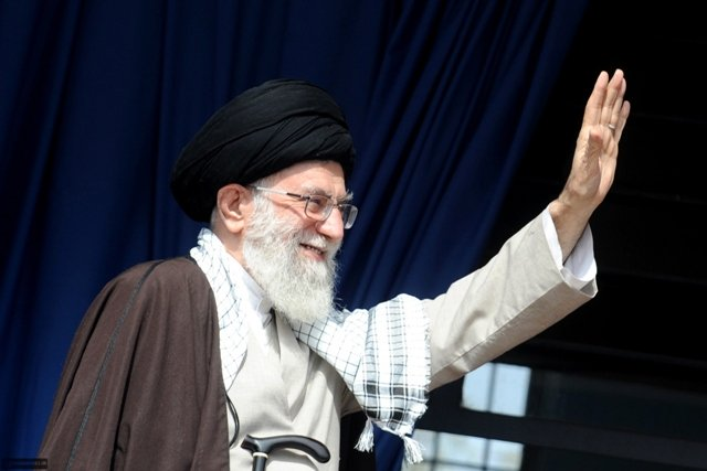 Ayatollah Ali Khamenei, who has called for a large turnout but not publicly stated his preference for any single candidate, voted early. PHOTO: REUTERS/FILE