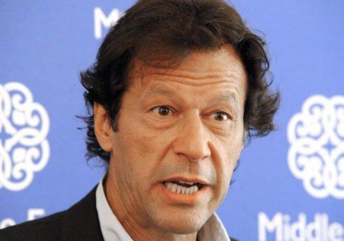 former pakistani cricketer and team captain imran khan photo afp